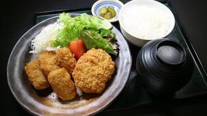 合鴨メンチと牛肉コロッケ.jpg